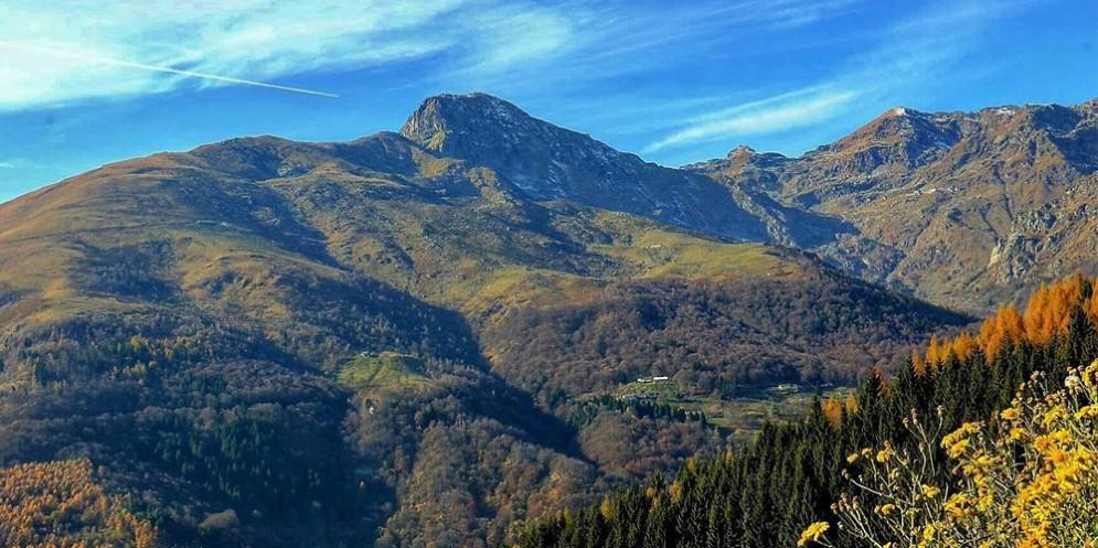 Il Monte Mucrone in autunno (© Daniela Pichetto)