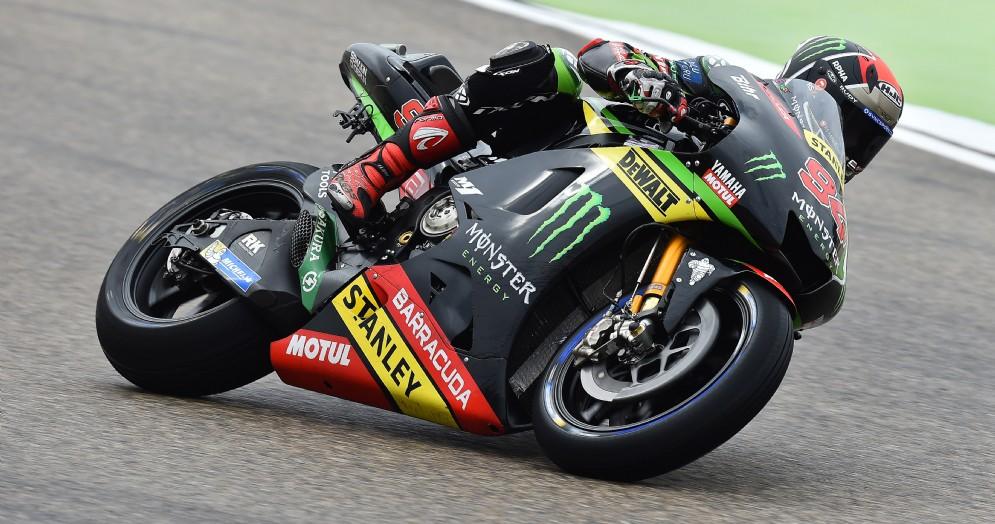 Jonas Folger in sella alla Yamaha del team Tech 3