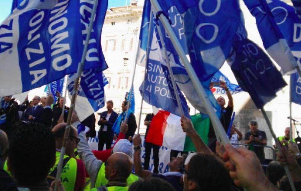 Un momento della manifestazione