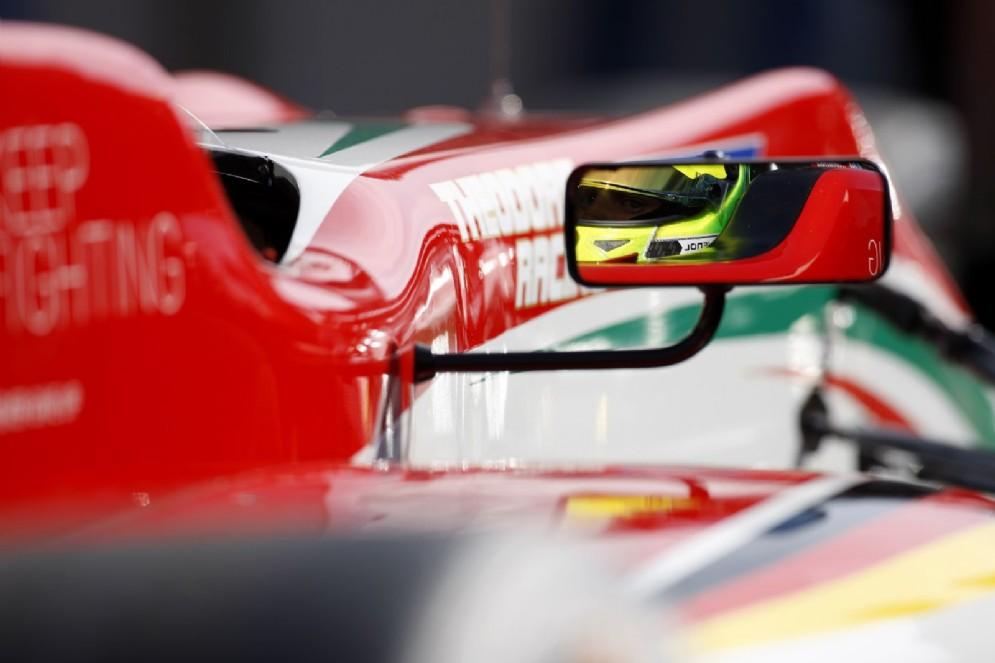 Schumi Jr al volante della sua monoposto del team Prema
