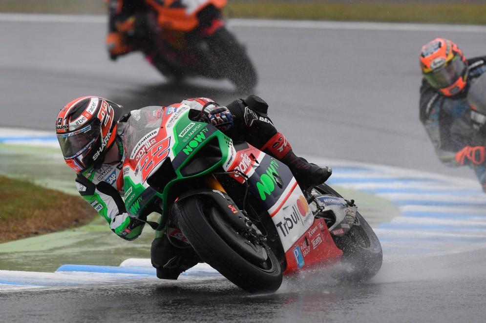 Sam Lowes in azione nel Gran Premio del Giappone