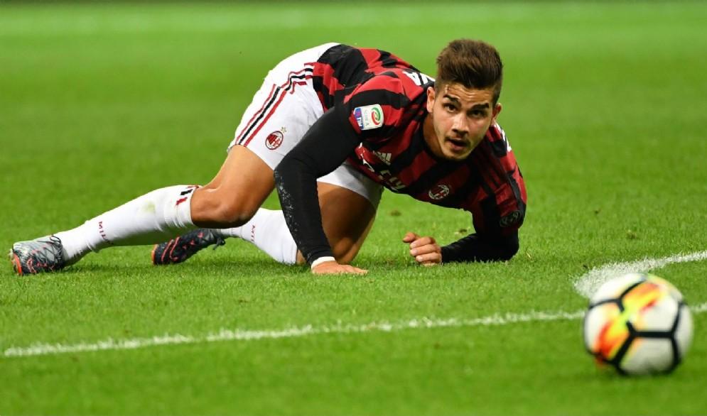 Andrè Silva, centravanti del Milan e della nazionale portoghese
