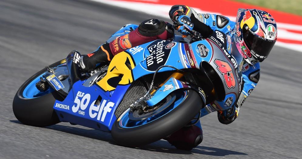 Jack Miller in sella alla Honda del team Marc Vds