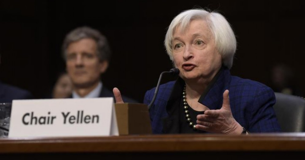 La Presidente della Federal Reserve, Janet Yellen