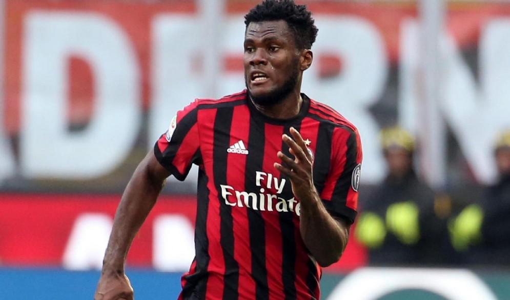 Il centrocampista ivoriano del Milan Franck Kessiè