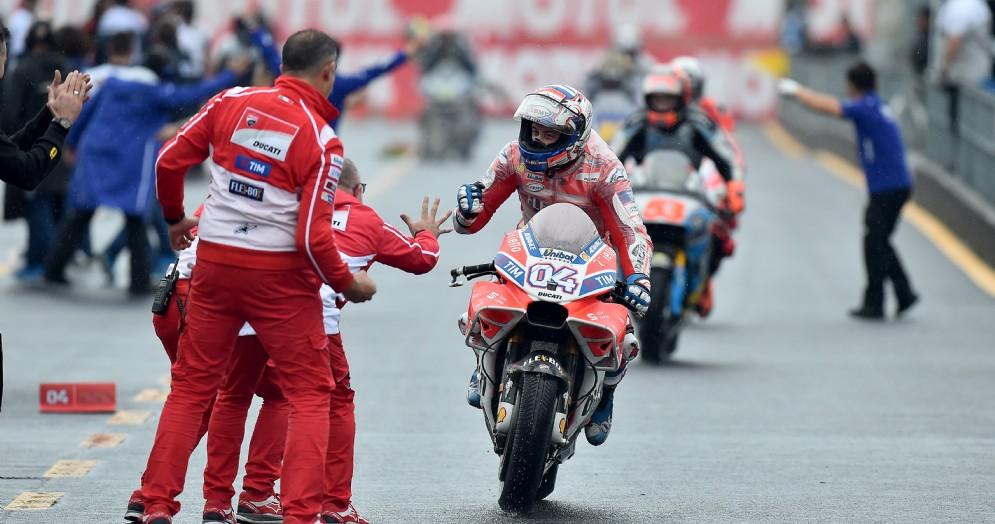 Andrea Dovizioso vincitore dell'ultimo Gran Premio in Giappone