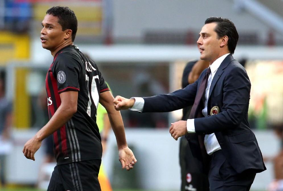 Carlos Bacca ha giocato per due stagioni col Milan