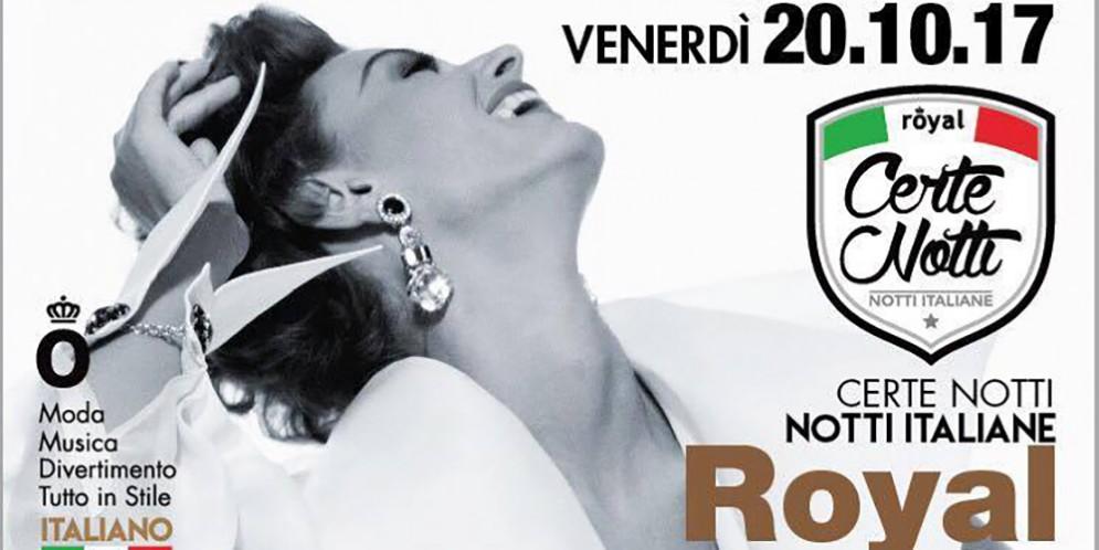 Royal di Pordenone: iniziano le notti italiane