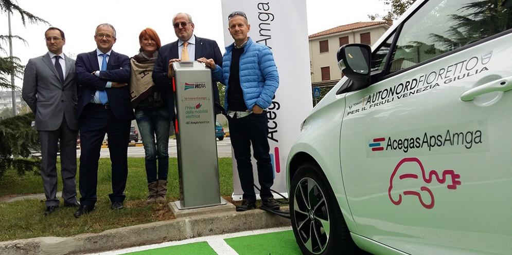 Gorizia entra nell' 'Hera' della mobilità elettrica