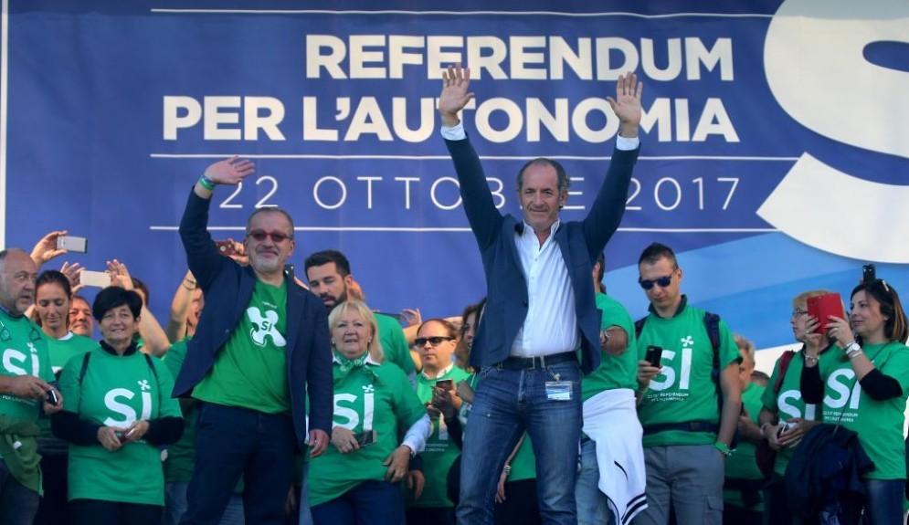 Domenica 22 ottobre si vota per l'autonomia in Lombardia e Veneto.