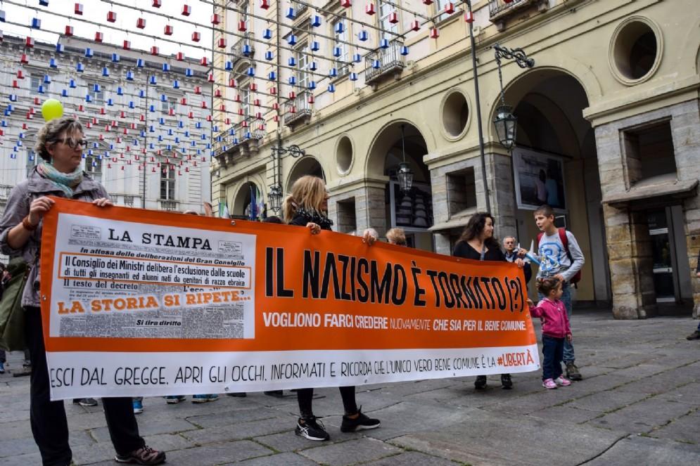 Manifestazione No Vax, sabato 21 ottobre