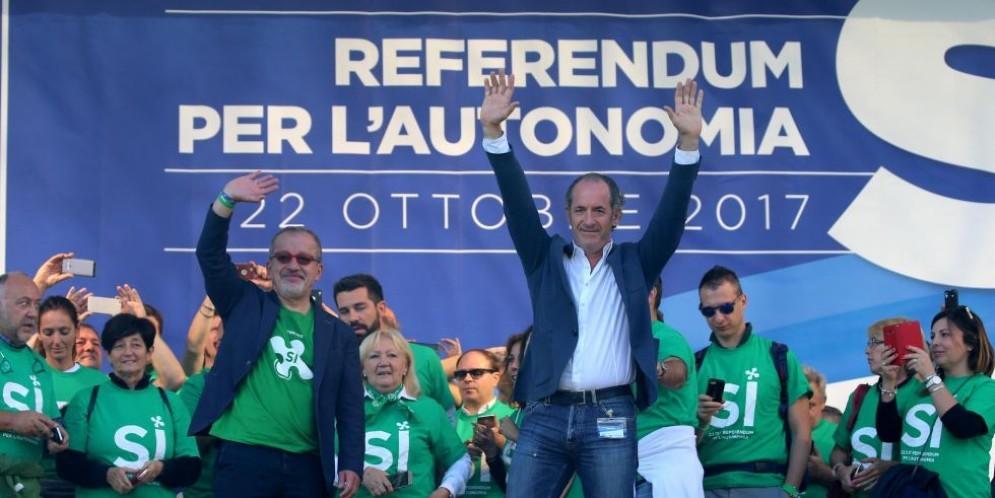 Oggi in Lombardia e Veneto si vota il referendum per l'autonomia.