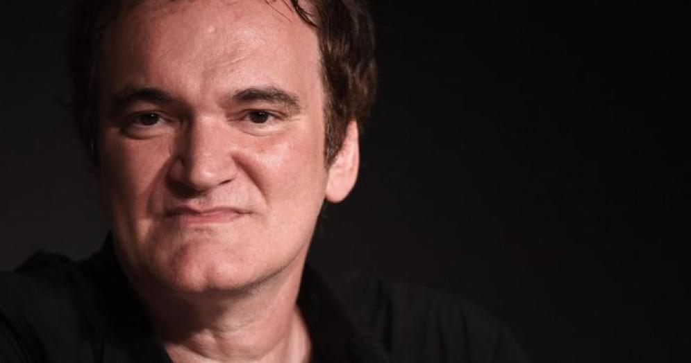 L'attore e regista americano, Quentin Tarantino