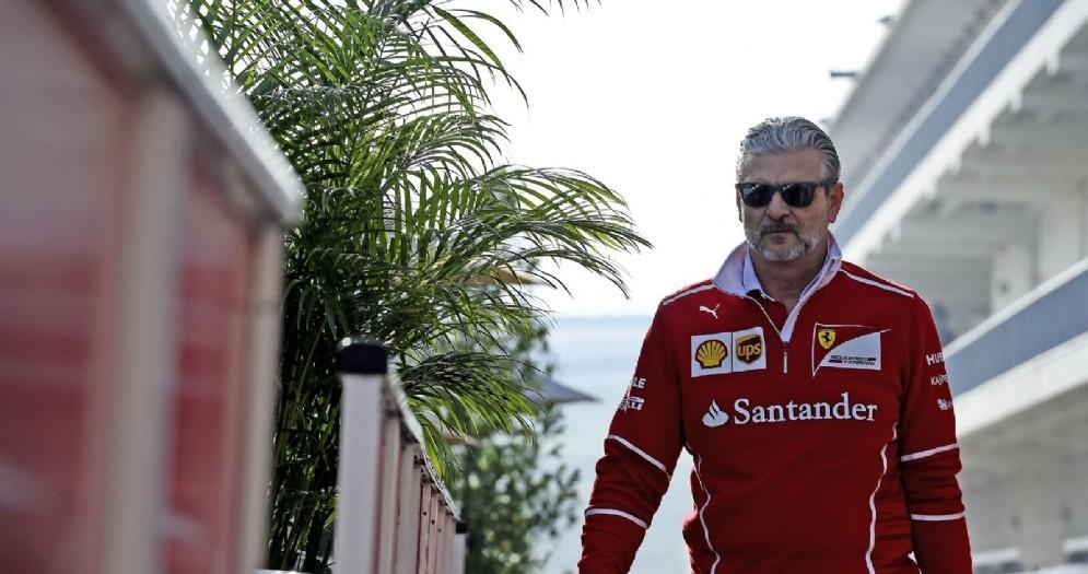 Il team principal della Ferrari, Maurizio Arrivabene