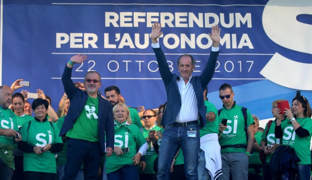 I due governatori di Veneto e Lombardia sono pronti a trattare con Roma.