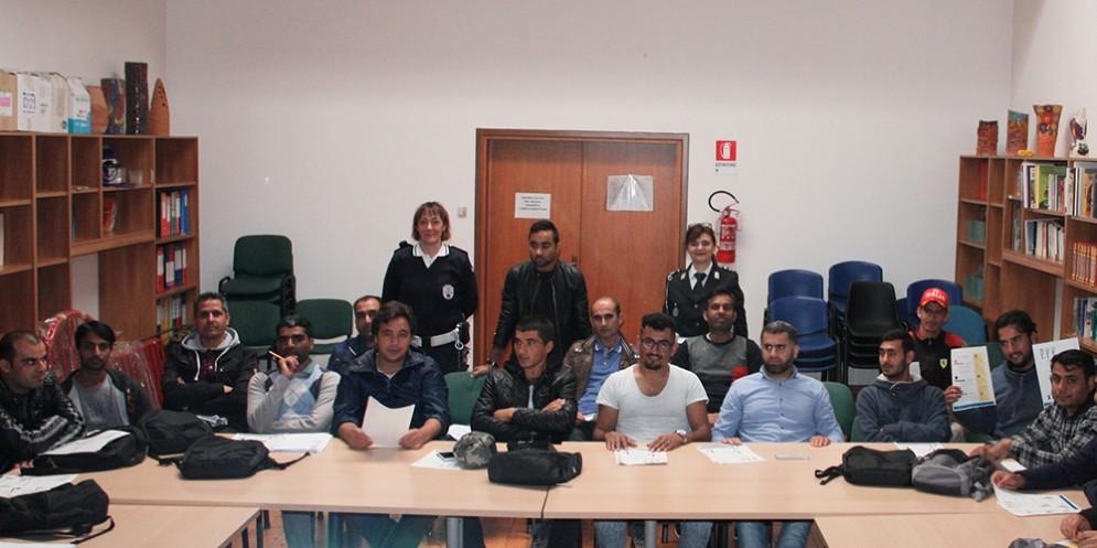 Corso di formazione sul Codice della strada per richiedenti asilo