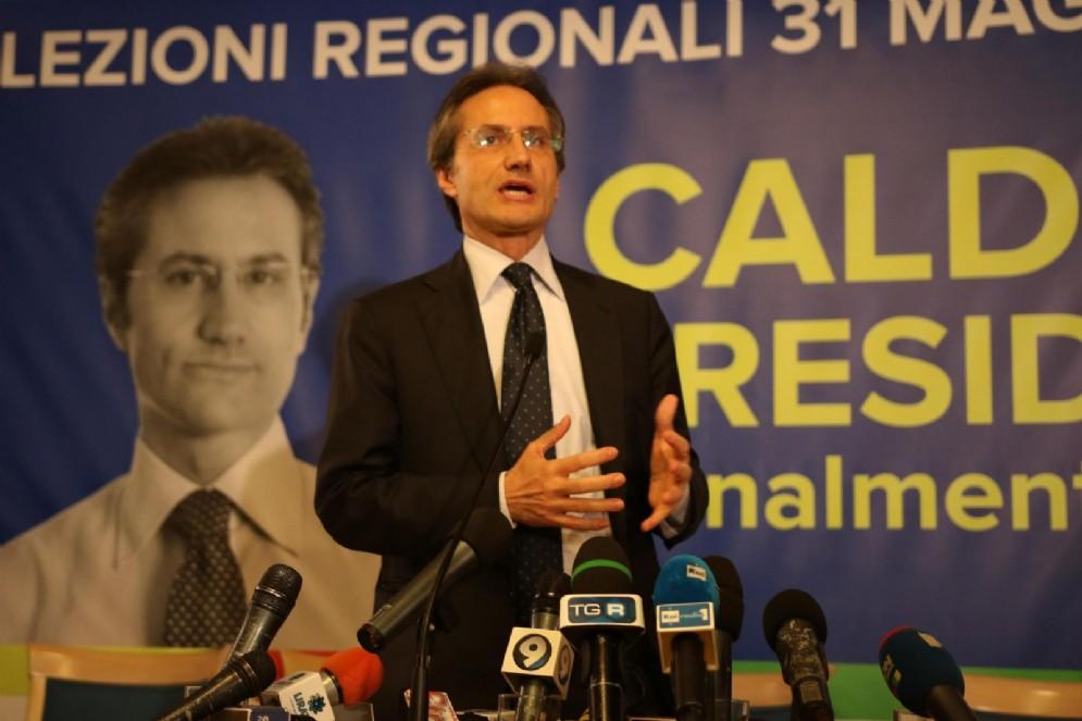 L'ex governatore della Campania Stefano Caldoro