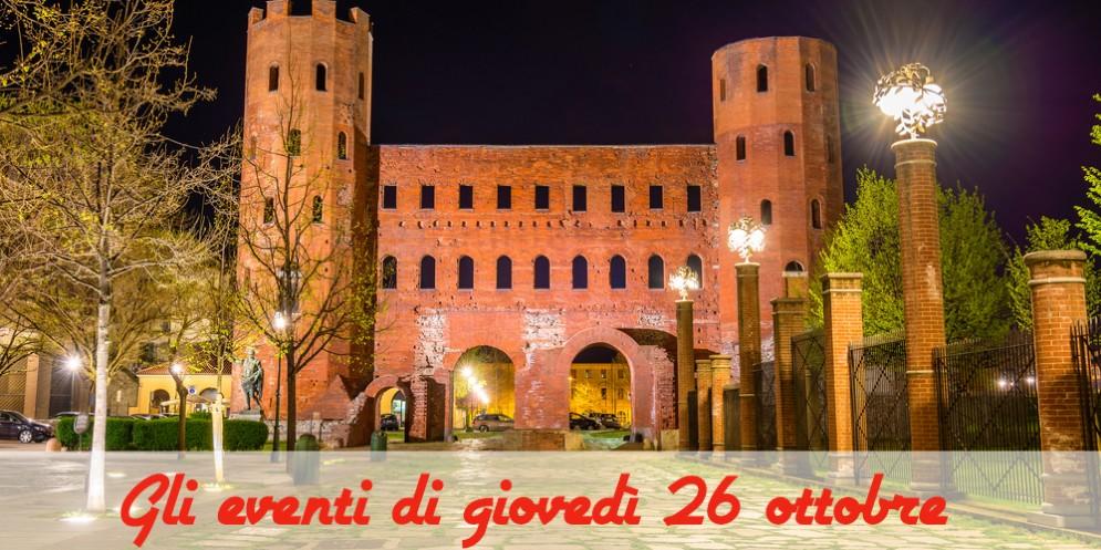 Torino, 6 cose da fare giovedì 26 ottobre