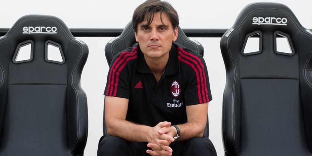 Vincenzo Montella, secondo anno sulla panchina del Milan