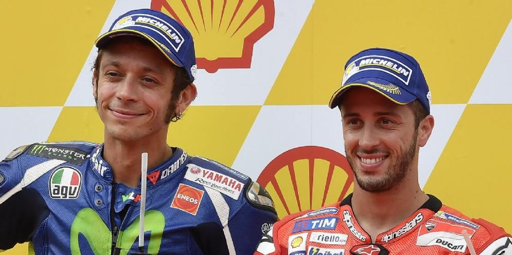 Valentino Rossi e Andrea Dovizioso