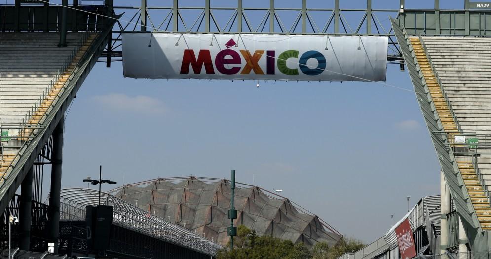 Le tribune del circuito Hermanos Rodriguez che ospita il GP del Messico