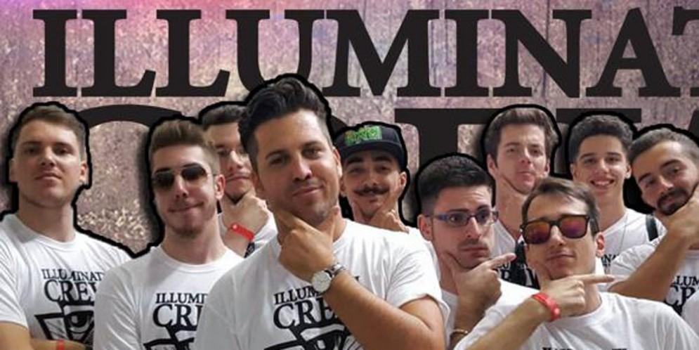 YouTuber mania al Terminal Nord: arrivano gli 'Illuminati Crew'