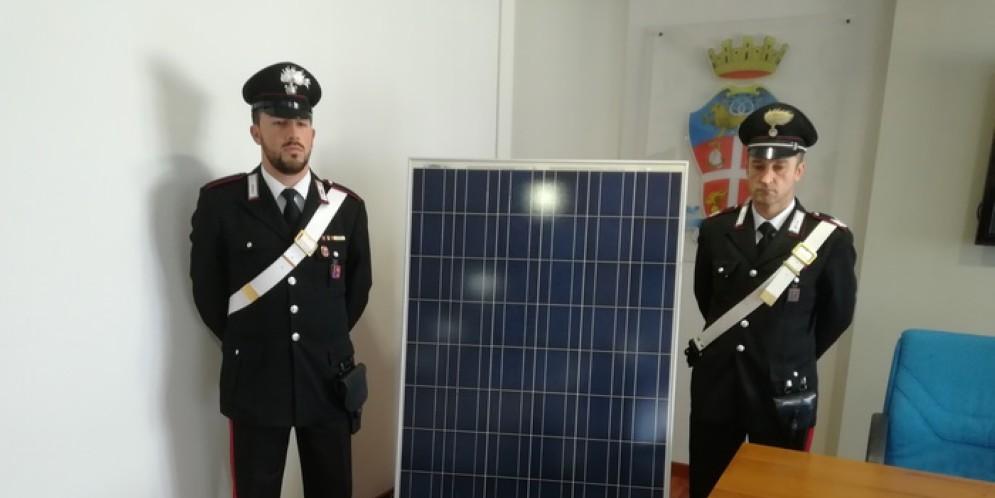 Stroncato dai Carabinieri di Padova un traffico di pannelli fotovoltaici