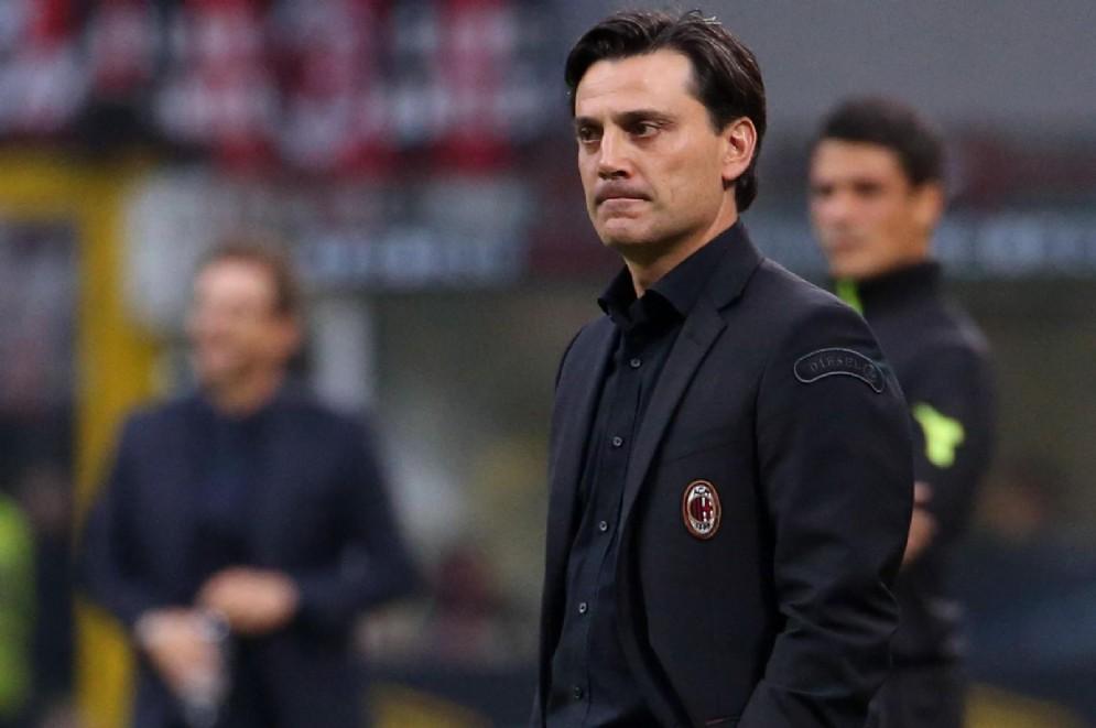 Vincenzo Montella, allenatore del Milan