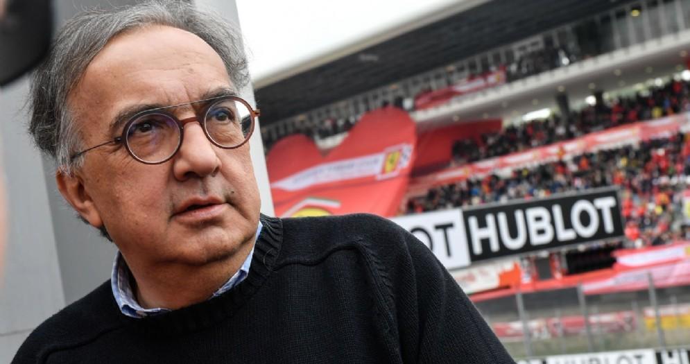 Il presidente della Ferrari Sergio Marchionne alle Finali mondiali del Mugello