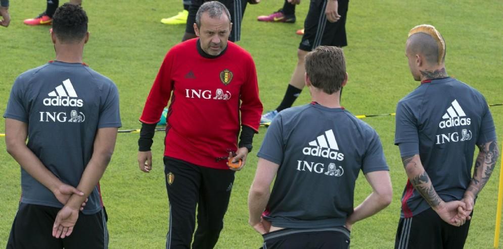 Innaurato con Nainngolan agli Europei di Francia 2016