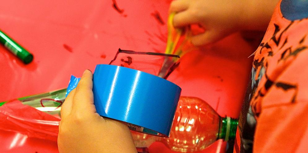 All'Immaginario di Pordenone i bambini si trasformano in piccoli scienziati