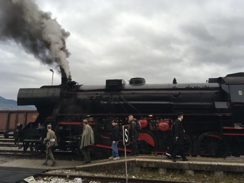 In viaggio con il treno storico da Redipuglia a Caporetto (© Diario di Gorizia)