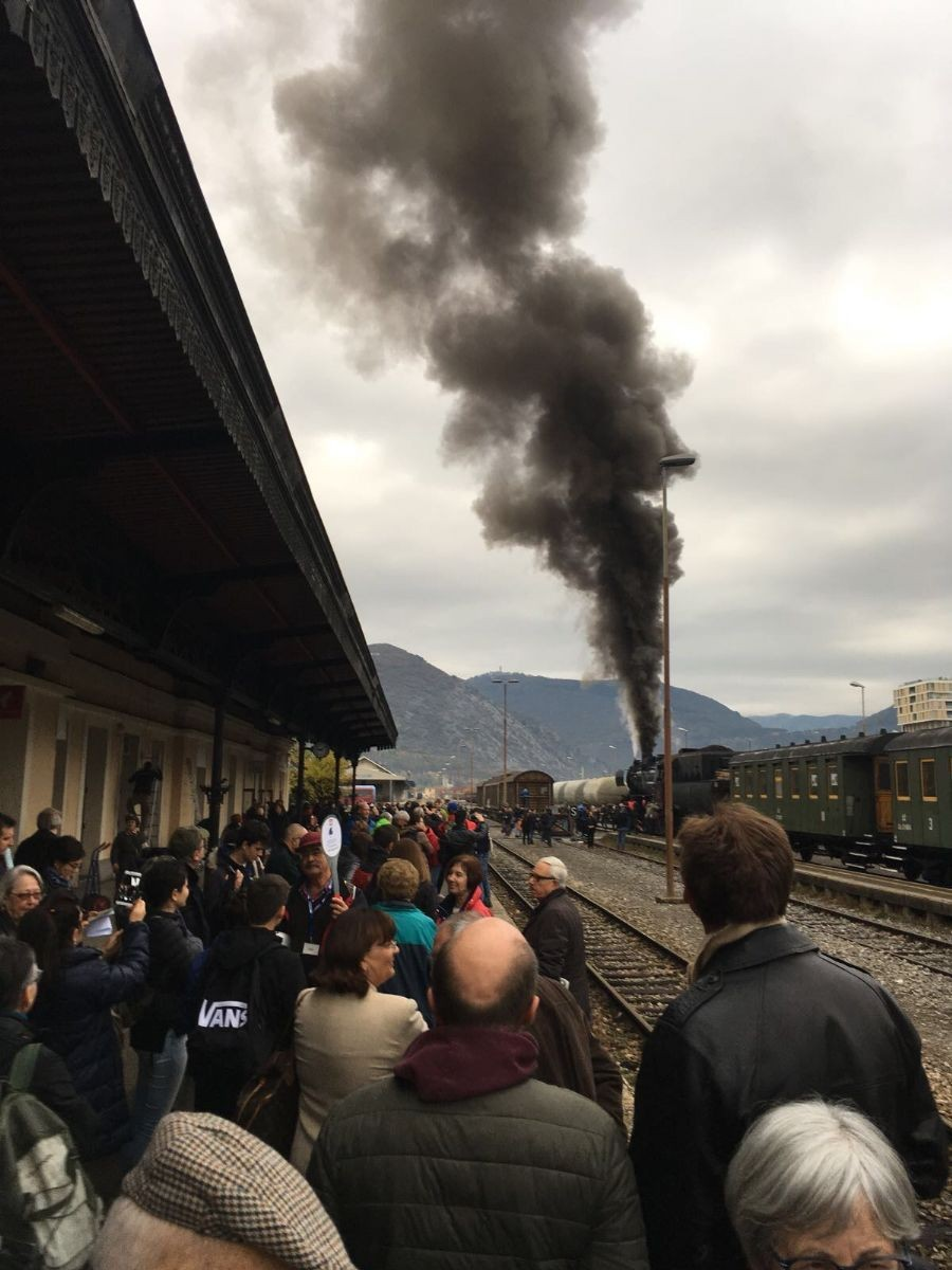 In viaggio con il treno storico da Redipuglia a Caporetto