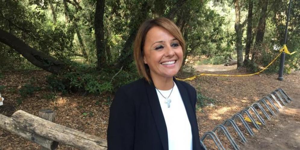 Monica Picca, candidata del centrodestra al Comune di Ostia
