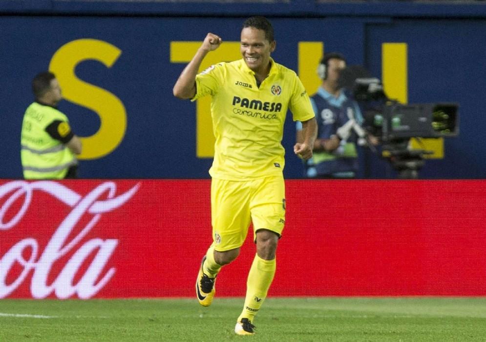 Carlos Bacca, centravanti del Villarreal in prestito dal Milan