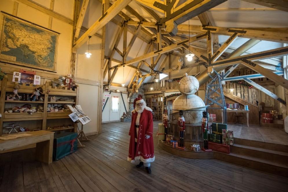 Il quartier generale di Babbo Natale