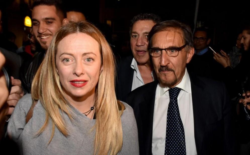 La presidente di FdI Giorgia Meloni si candida alla leadership del centrodestra