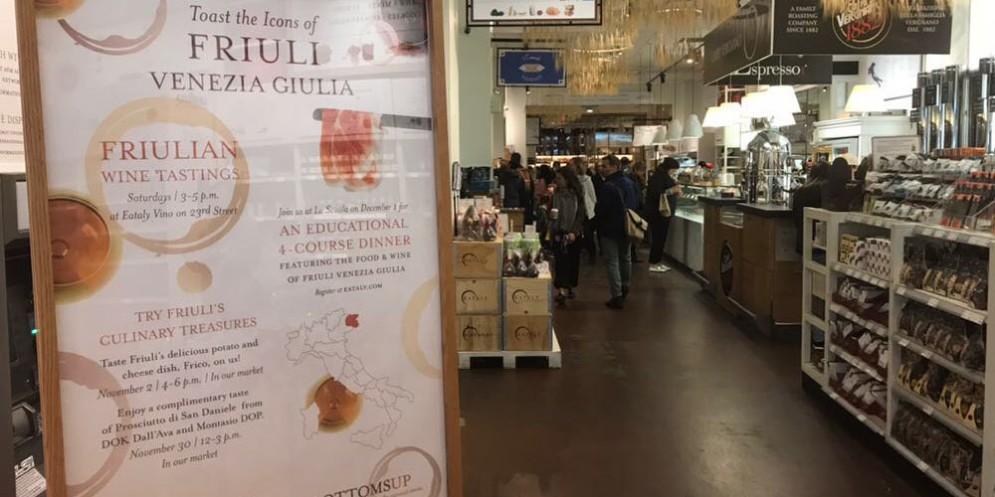 Eccellenze agroalimentari del Friuli Venezia Giulia alla conquista degli States