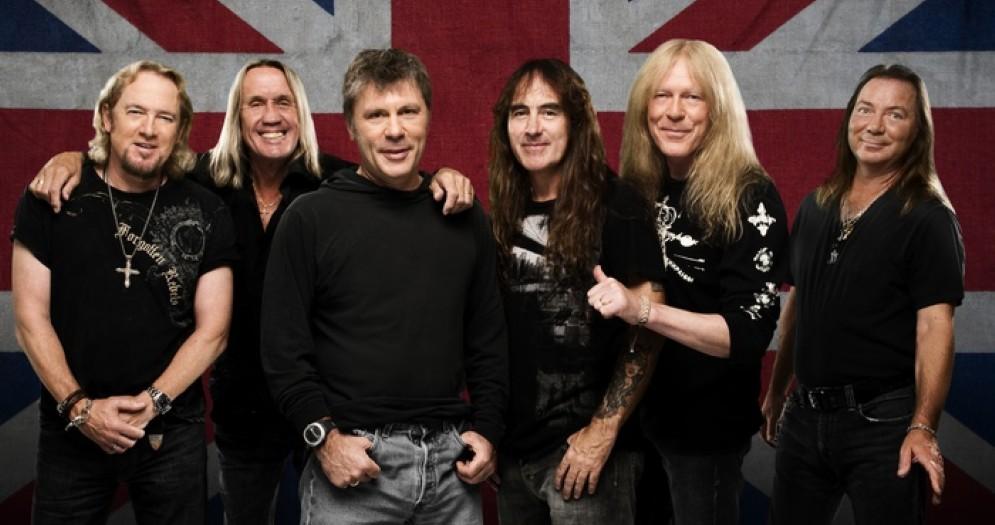 Iron Maiden in concerto a Milano e Trieste