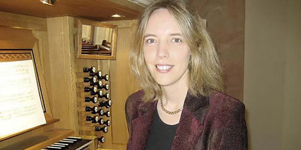 L'organista Elizabeth Zawadke al Festival di Musica Sacra