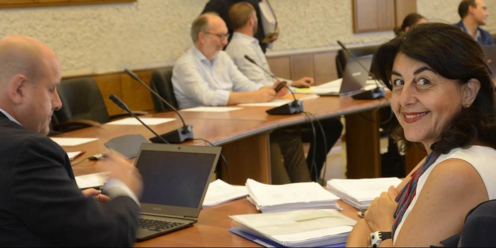 L'assessore Santoro interviene in commissione