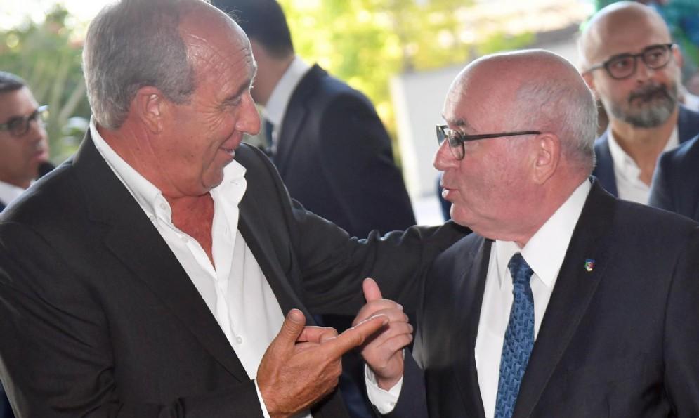Piena intesa tra il ct Ventura e il presidente Figc Tavecchio