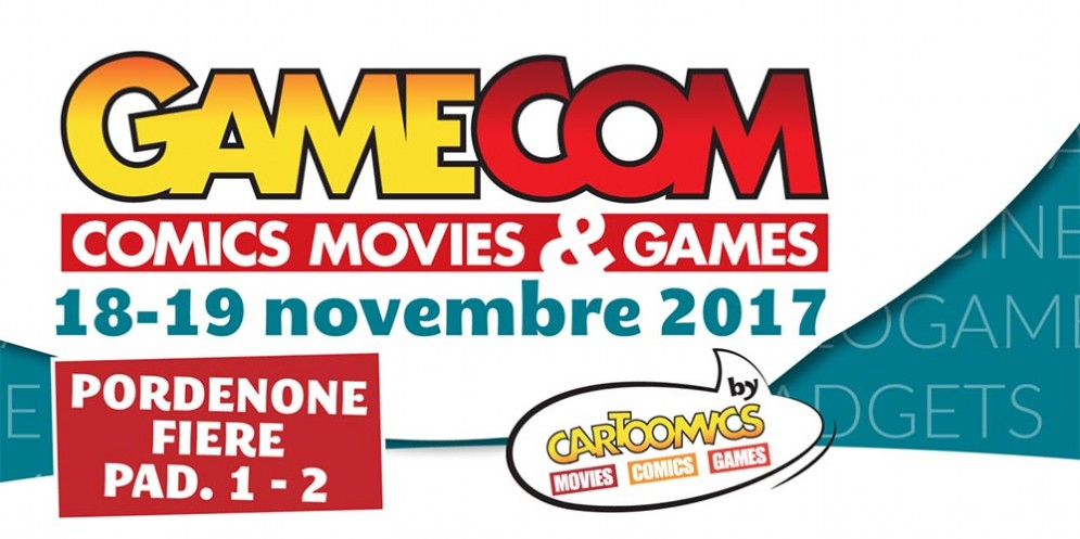GameCom-Comics Movies & Games torna a Pordenone Fiere