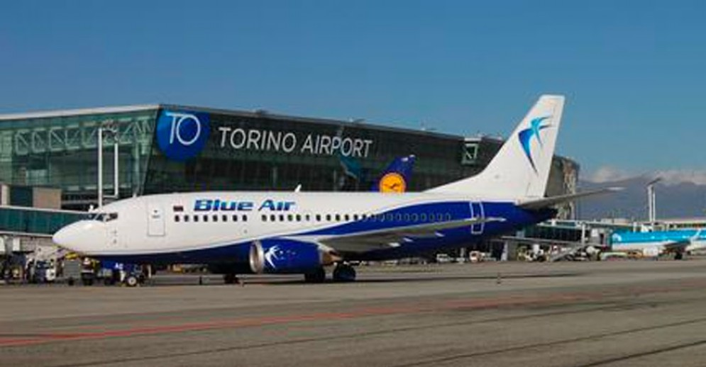 Blue Air a Caselle Torinese