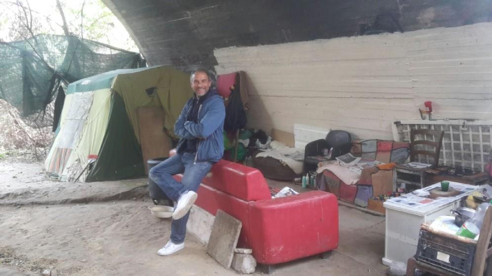L'area è caratterizzata da insediamenti abusivi con decine di baracche che sorgono senza alcun controllo