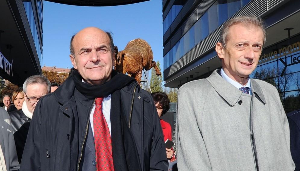 Pierluigi Bersani e Piero Fassino