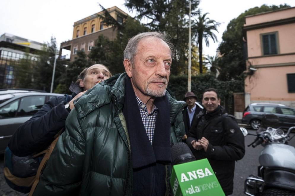Renzo Ulivieri, presidente dell'Associazione Italiana Allenatori