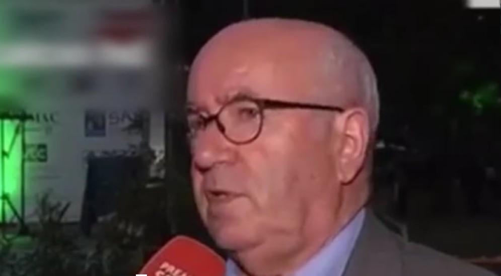 Carlo Tavecchio, dimissionario presidente della Federcalcio