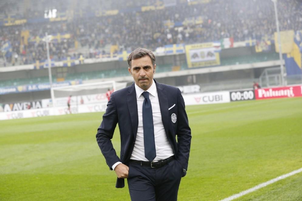 Fabio Pecchia, secondo anno sulla panchina del Verona