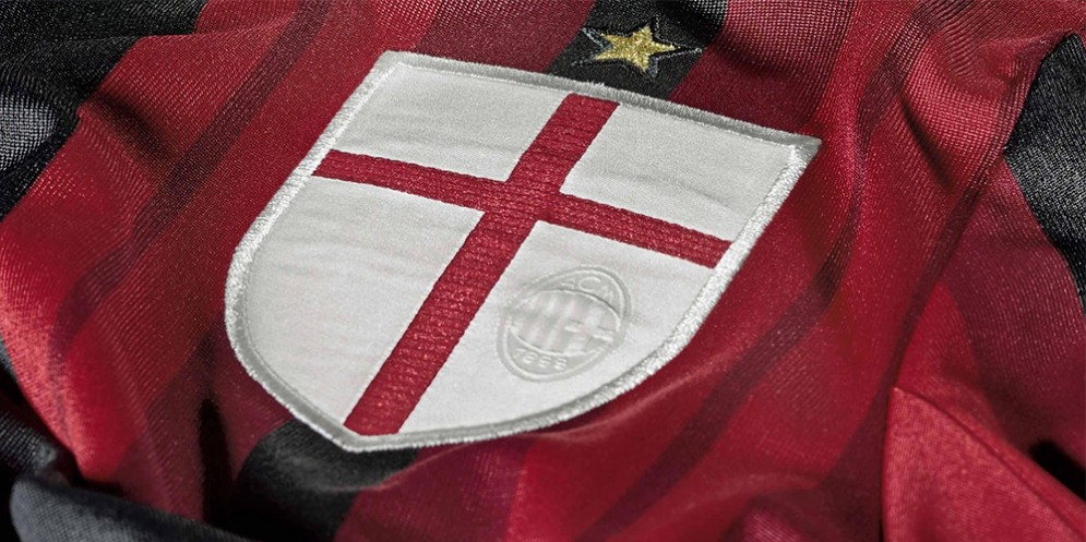 I colori rosso e nero scelti da Kilpin per il Milan